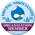 Proud Member of the Drupal Association
